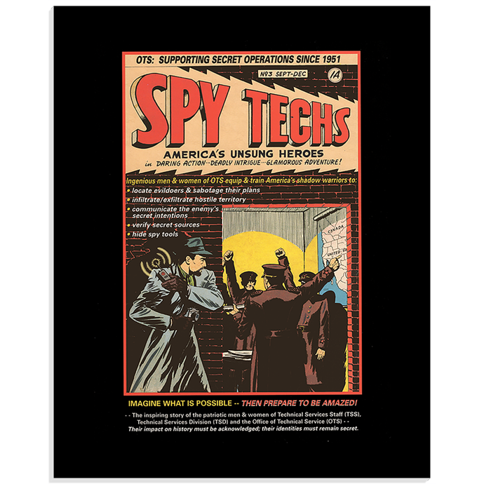 Spy Tech Acrylic Print