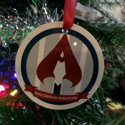 Inglorious Christmas Ornament