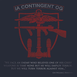 IA Contingent Operational Group Print