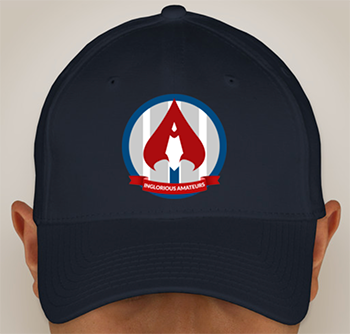 Inglorious Amateurs FlexFit Hat