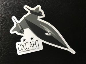 OXCART Sticker