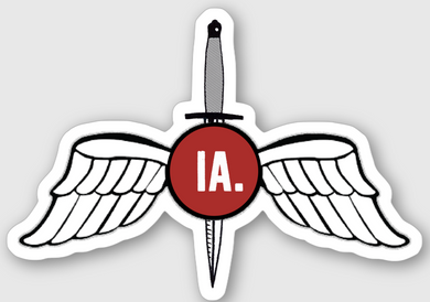 IA Wings Sticker