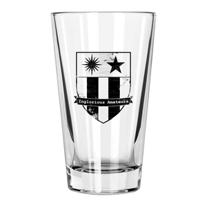 IA Logo Pint Glass