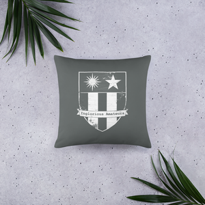 COG PhD Throw Pillow - Grey