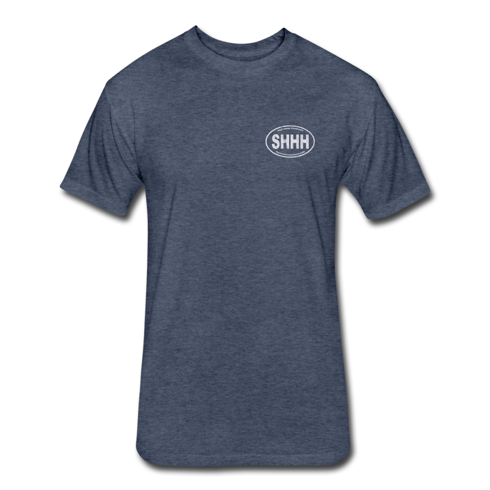 #SHHHINT Men's - heather navy