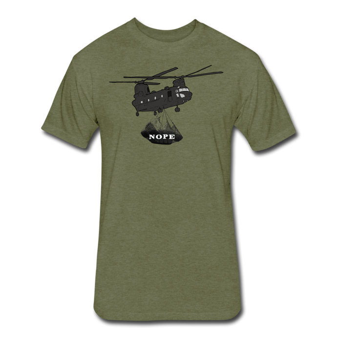 SOCNET NOPE - heather military green
