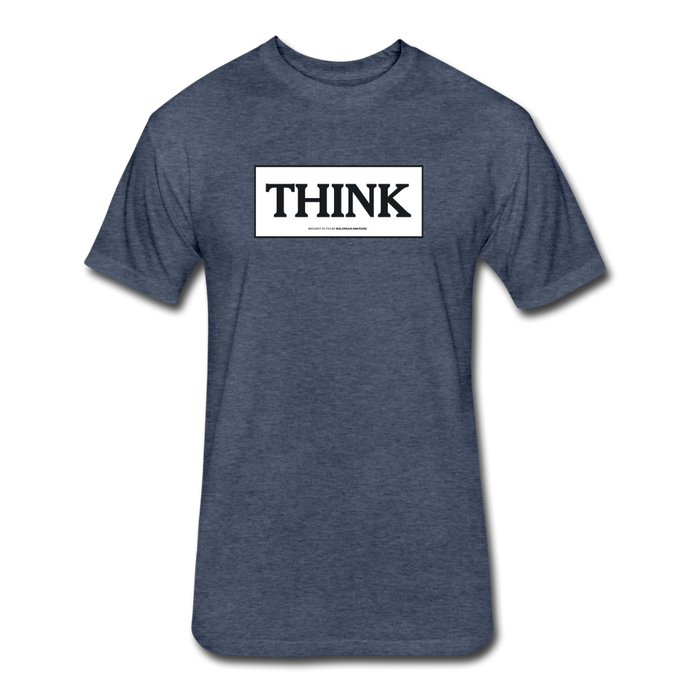 THINK shirt - heather navy
