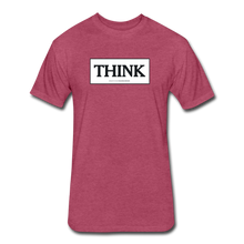 THINK shirt - heather burgundy