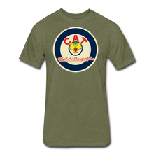 CAT Logo - heather military green