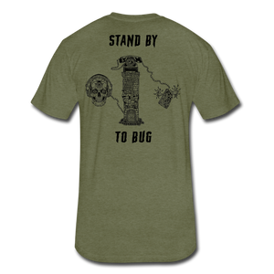 Stand By To Bug - heather military green