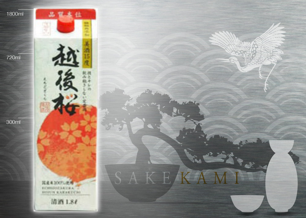 ECHIGOZAKURA PACK SAKE 1800ml