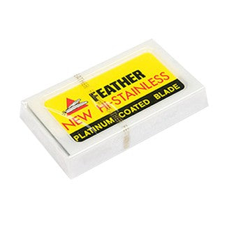 FEATHER DOUBLE EDGE RAZOR BLADES (5)