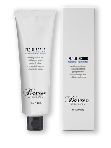 BAXTER OF CALIFORNIA FACIAL SCRUB 120mL - Blackwood Barbers