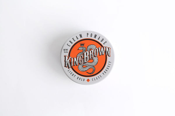 KING BROWN CREAM POMADE - Blackwood Barbers