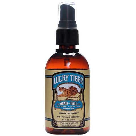 LUCKY TIGER DEODORANT & BODY SPRAY - Blackwood Barbers