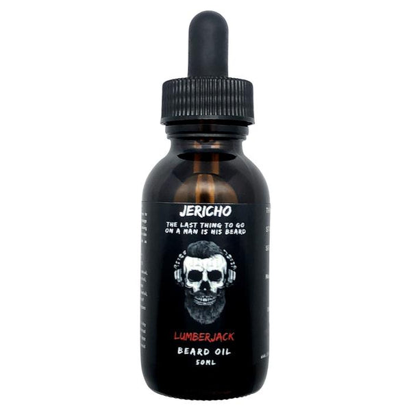JERICHO Lumberjack Beard Oil 50ml - Blackwood Barbers