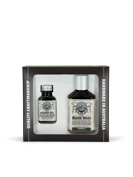 THE BEARDED CHAP LUXE DUO BEARD KIT