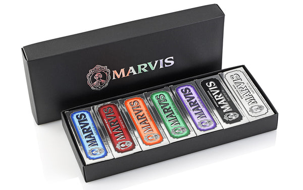 MARVIS Black Box 7 Flavours 25mL - Blackwood Barbers