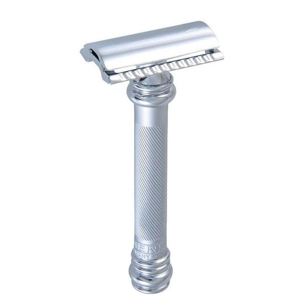 MERKUR 38C SAFETY RAZOR BARBER POLE CHROME - Blackwood Barbers