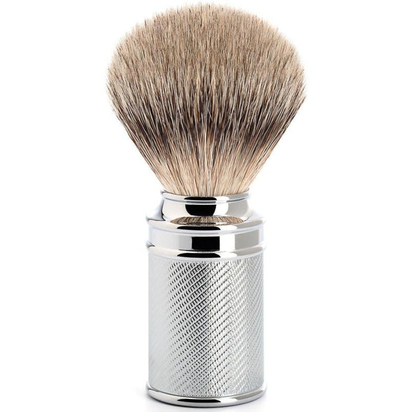 MUHLE SILVERTIP SHAVING BRUSH CHROME M89