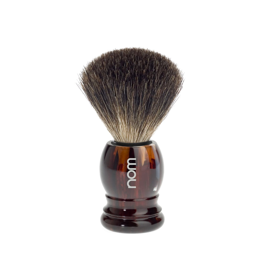 HJM NOM PURE BADGER BRUSH TORTOISESHELL