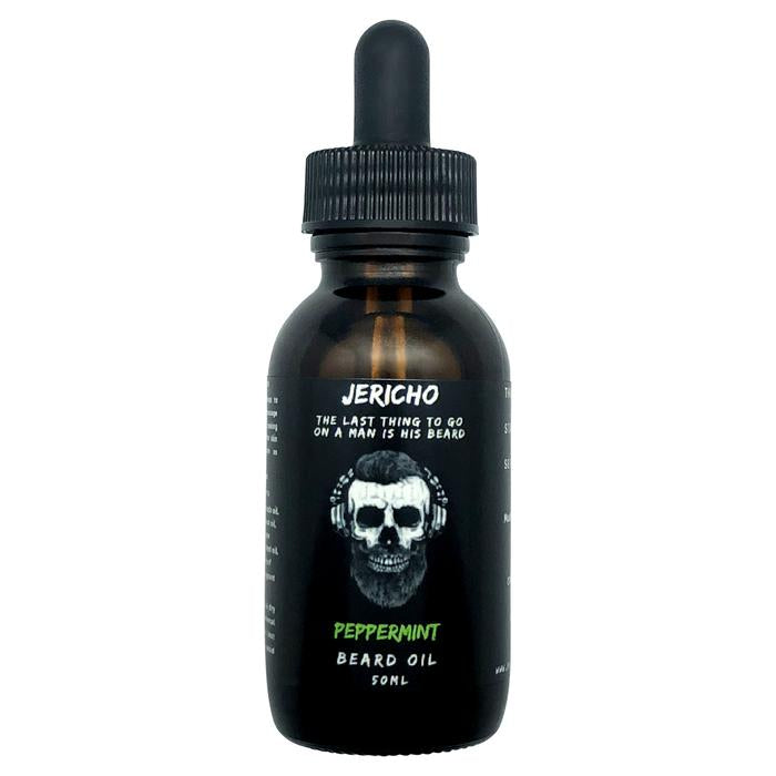 JERICHO Peppermint Beard Oil 50mL - Blackwood Barbers