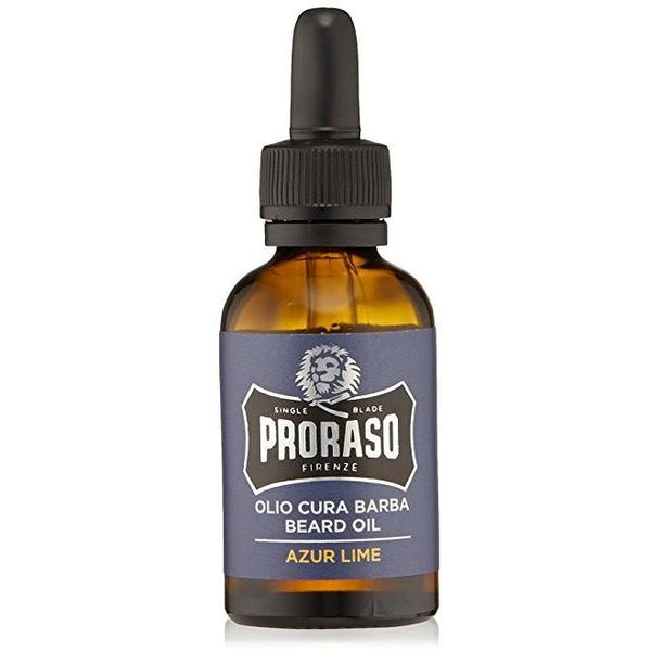 PRORASO BEARD OIL- AZUR LIME