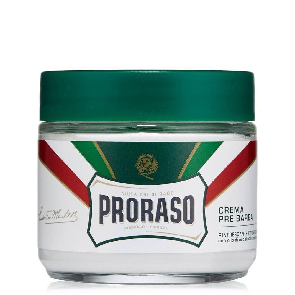 PRORASO PRESHAVE CREAM- EUCALYPTUS & MENTHOL REFRESH - Blackwood Barbers