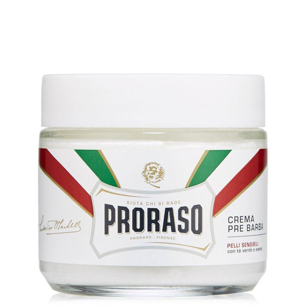 PRORASO PRESHAVE CREAM- GREEN TEA AND OATMEAL SENSITIVE - Blackwood Barbers