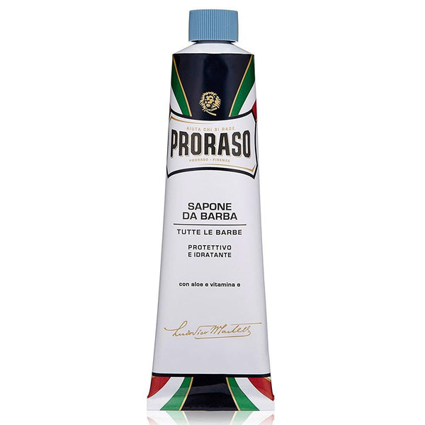 PRORASO ALOE VERA & VITAMIN E PROTECT SHAVING CREAM TUBE 150mL