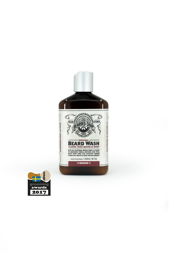 THE BEARDED CHAP RUGGED ORIGINAL BEARD WASH