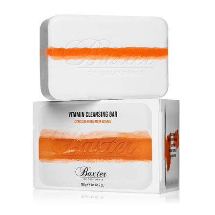 BAXTER OF CALIFORNIA VITAMIN CLEANSING BAR WITH CITRUS & HERBAL MUSK - Blackwood Barbers