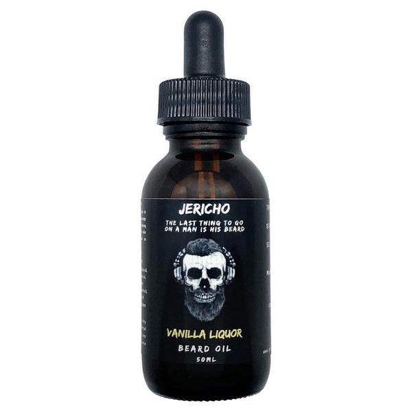 JERICHO Vanilla Liquor Beard Oil 50mL - Blackwood Barbers
