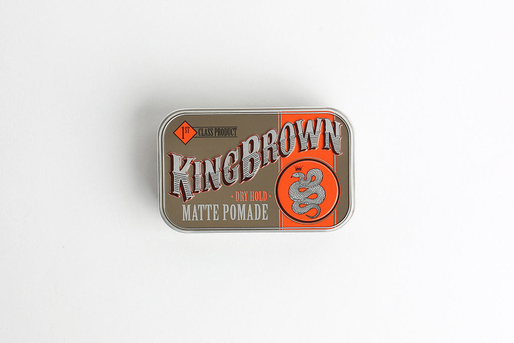 KING BROWN MATTE POMADE - Blackwood Barbers