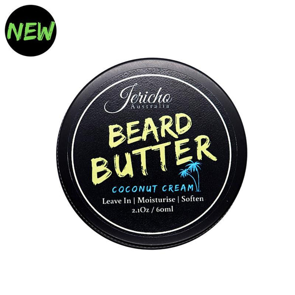 Jericho Coconut Cream Beard Butter - Blackwood Barbers