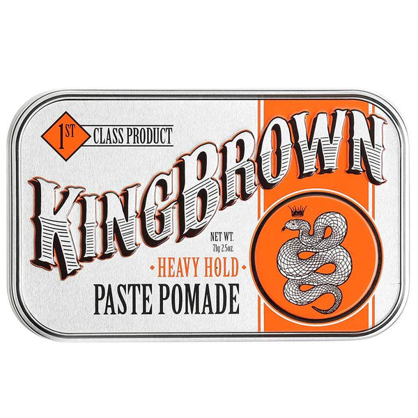 KING BROWN PASTE POMADE - Blackwood Barbers