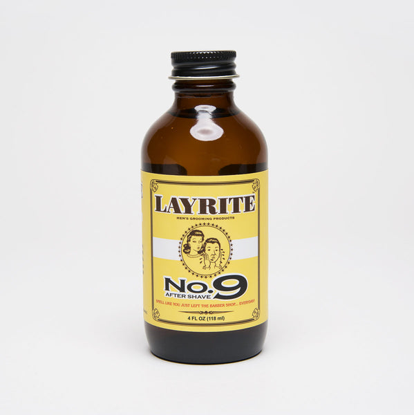 LAYRITE NO.9 BAY RUM AFTERSHAVE