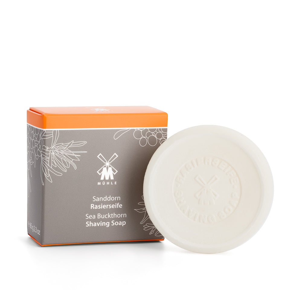 MUHLE SHAVE SOAP- SEA BUCKTHORN - Blackwood Barbers