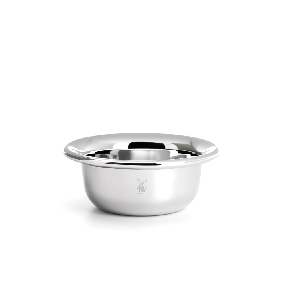MUHLE STAINLESS STEEL CHROME PLATED SHAVING BOWL RN6CHROM