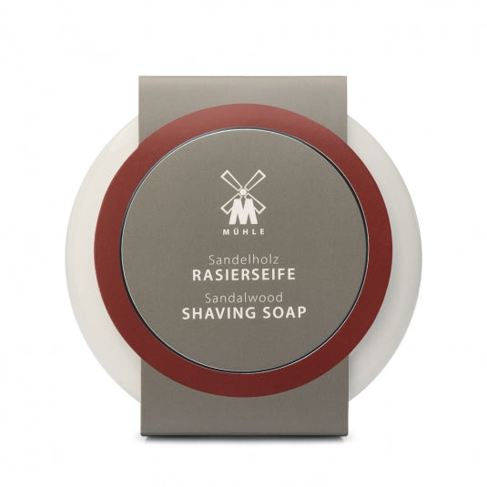 MUHLE SHAVING SOAP WITH SANDALWOOD IN PORCELAIN BOWL - Blackwood Barbers