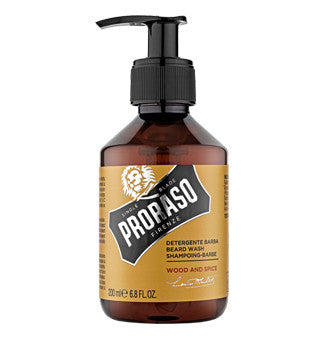 PRORASO BEARD WASH- WOOD & SPICE