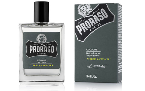 PRORASO COLOGNE - CYPRESS & VETYVER - Blackwood Barbers