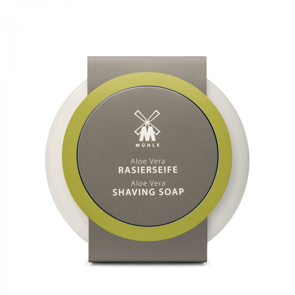 MUHLE SHAVING SOAP WITH ALOE VERA IN PORCELAIN BOWL - Blackwood Barbers