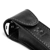 MUHLE LEATHER POUCH FOR TRADITIONAL SAFETY RAZOR- BLACK - Blackwood Barbers