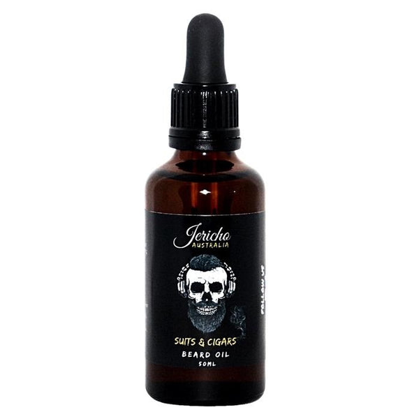Jericho Suits & Cigars Beard Oil 50ml - Blackwood Barbers