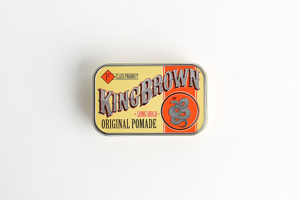KING BROWN ORIGINAL POMADE - Blackwood Barbers