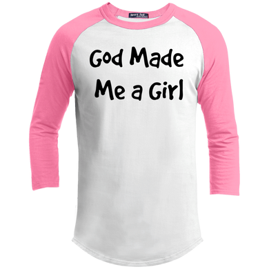 God Made Me a Girl - Young Adult Jersey - THEGOODSHEPHERDSHIRTS.com