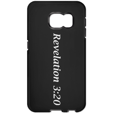 Revelation 3:20 - Samsung Galaxy 6 Tough Case - THEGOODSHEPHERDSHIRTS.com