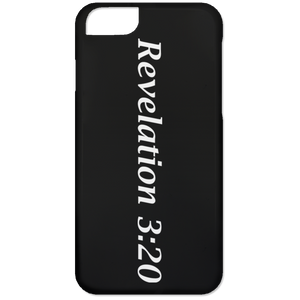 Revelation 3:20 - iPhone 6 Case - THEGOODSHEPHERDSHIRTS.com