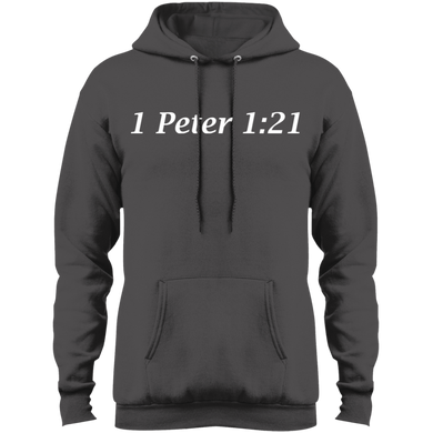 1 Peter 1:21 Men's Pullover Fleece - THEGOODSHEPHERDSHIRTS.com